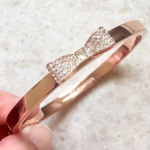 Gorgeous NWOT kate spade sparkling bow bracelet!